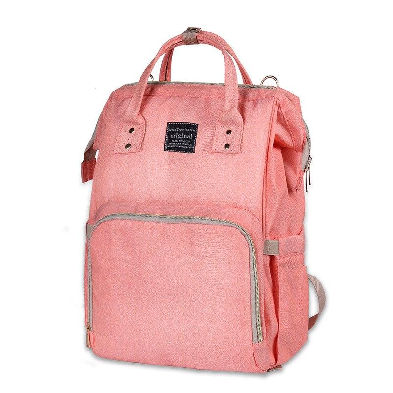 Baby Maternity Backpack Nappy Maternal Big Baby Travel Handbag Mammy Bag High Capacity Fashion Waterproof Dirty Storage