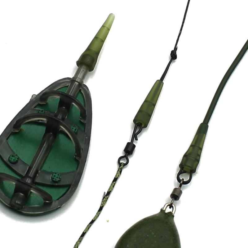 20x Carp Fishing Heavy Duty Lead Clip /& Tail Rubber Fishing For Carp X0R0