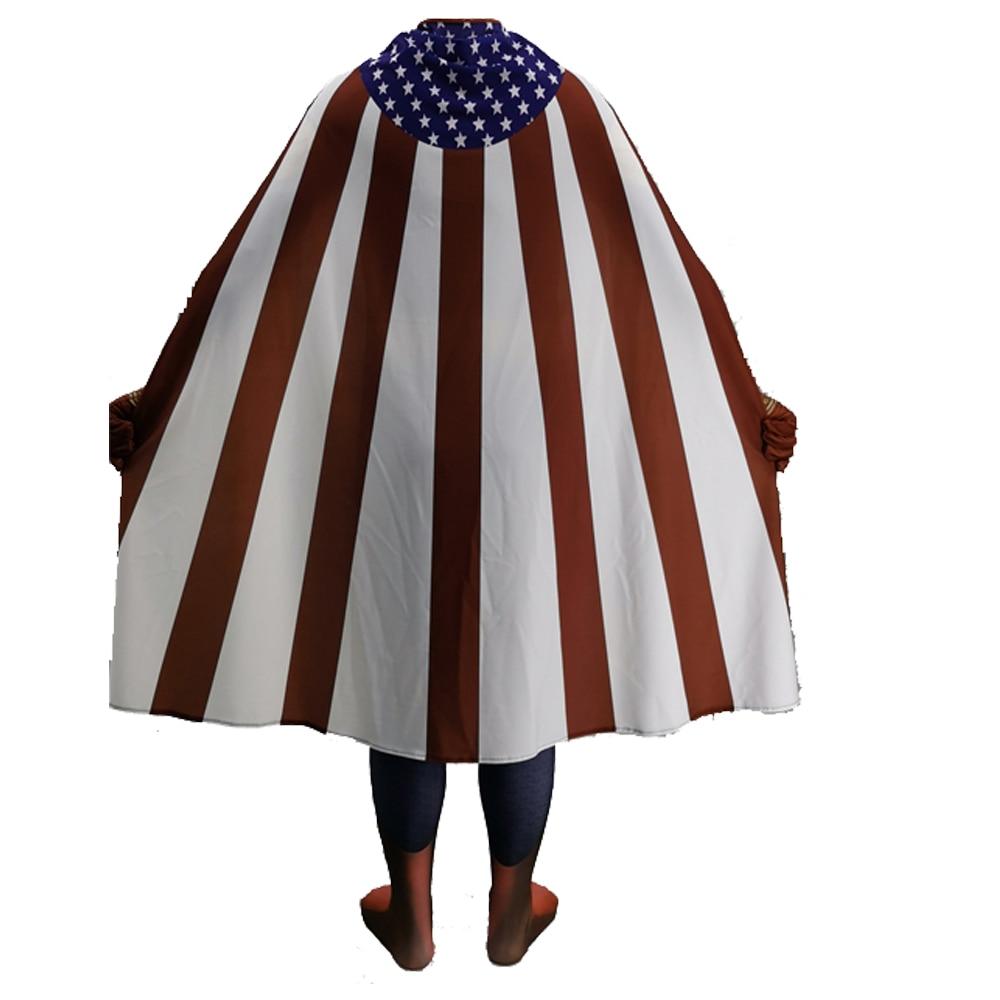 2020  Homelander The Deep Boys Cosplay Costume Halloween Costumes The Seven Homelander A-Train Super Hero Costumes Jumpsuits 4