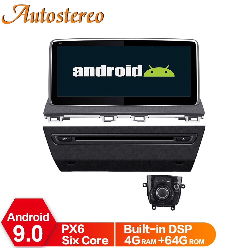 <font><b>Android</b></font> 9.0 4GB Car GPS Navigation Head Unit For <font><b>Mazda</b></font> 3 2013-2018 Multimedia Player <font><b>Radio</b></font> Recorder Stereo DSP ISP No DVD Player image
