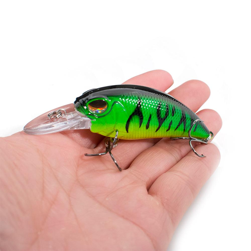 SEALURER New Fishing Tackle Retail 2020 Quality Fishing Lure 85mm 15g Crank Dive 2m For Pike And Bass