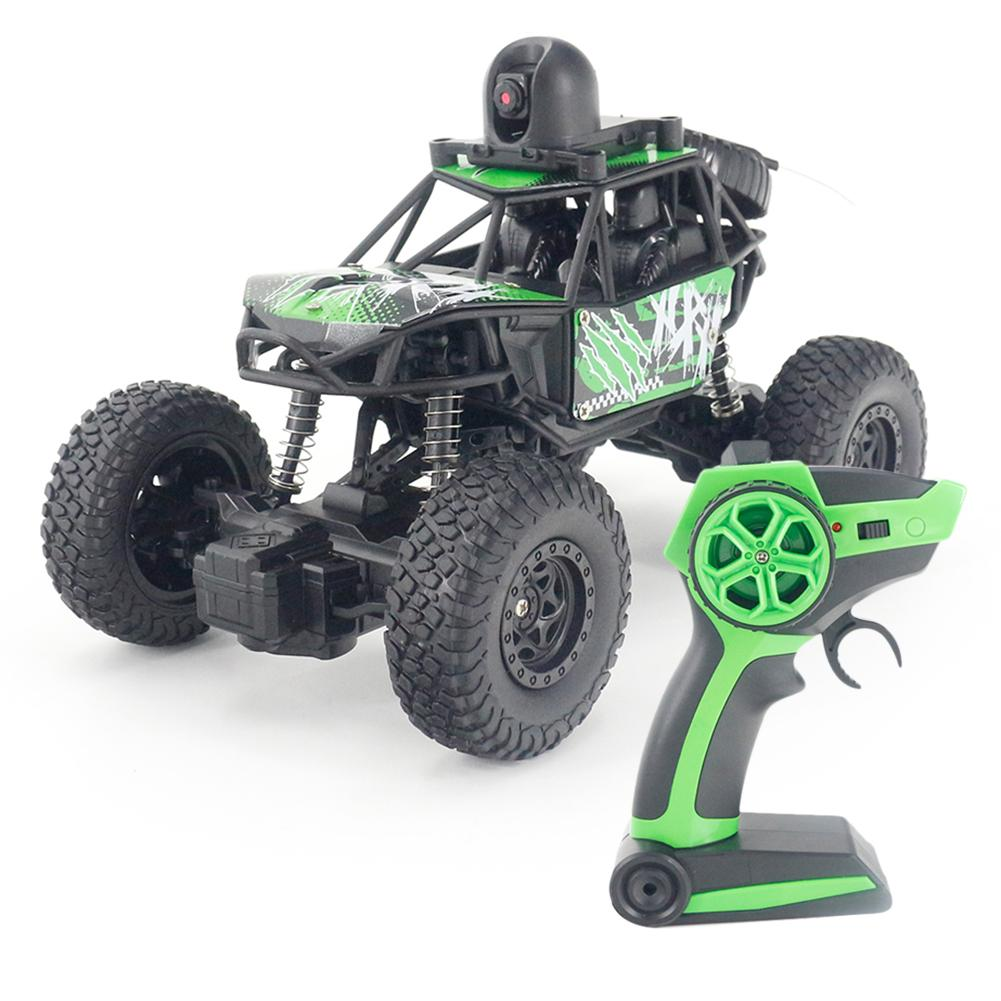 RC Car Electric Off Road Vehicle High Speed Climbing Truck With 720P Camera WiFi VR Perspective Remote Control Car 1:22 2WD 2.4