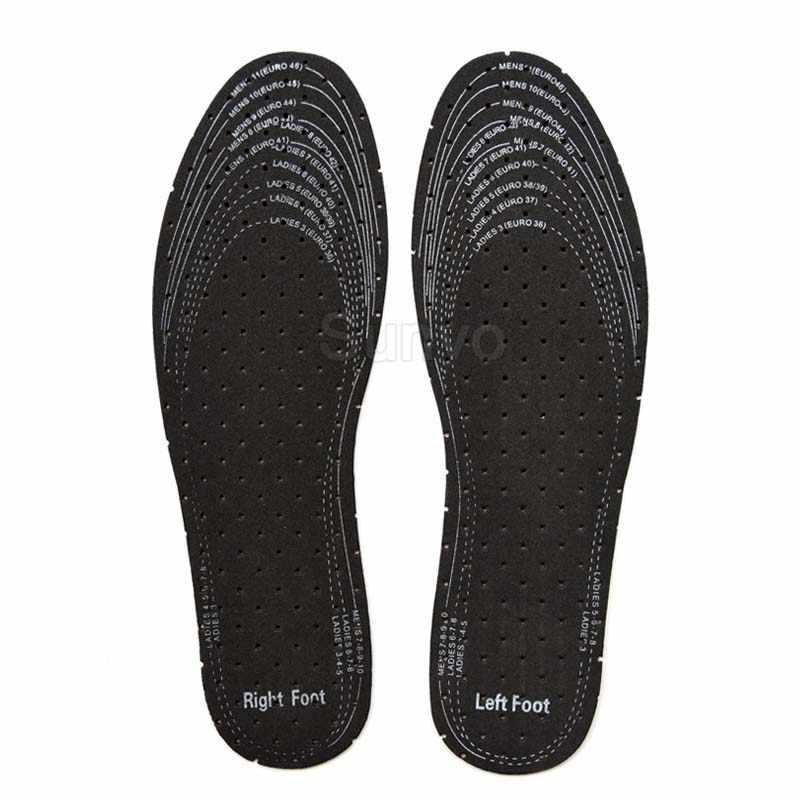 Eva Lederen Inlegzolen Voor Mannen Vrouwen Zachte Ademend Deodorant Absorberen Zweet Innerlijke Schoenen Pads Inserts Vervanging Zool Dropshipping