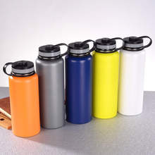 Flask Hydro Water Bottle Stainless Steel Vacuum Insulated Wide Mouth w