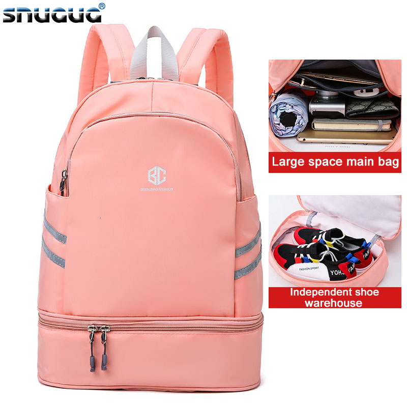 Pool Beach Fitness Bag Swimsuit Rucksack Waterproof Sports Backpack Women Dry Wet Camping Gym Backpacks Sports Bags For Fitness