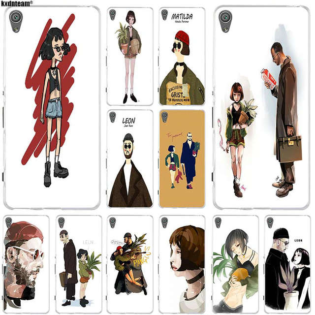 Hot Leon The Professional Mathilda Film Silicone Soft Phone Case For Sony Xperia Z Z1 Z2 Z3 Z4 Z5 Compact Mini M2 M4 M5 E3 E5 T3 Half Wrapped Cases Aliexpress