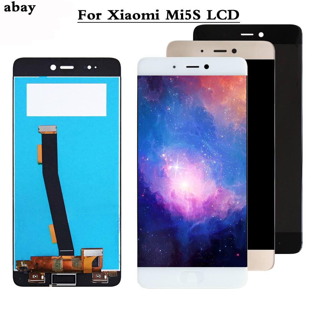 LCD <font><b>Display</b></font> for <font><b>Xiaomi</b></font> <font><b>Mi5S</b></font> Lcd Screen Replacement LCD <font><b>Display</b></font> Touch Screen for <font><b>Xiaomi</b></font> <font><b>Mi5S</b></font> <font><b>Display</b></font> tested Phone Lcds 5.15inch image