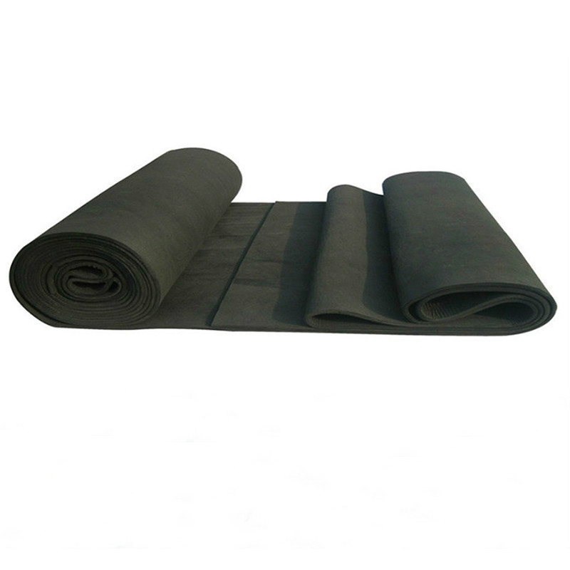 1pcs New Arrival Soft Graphite Carbon Felt High Temperature Carbon Fiber For Contamination Adsorption Cleaning  5x200x300mm