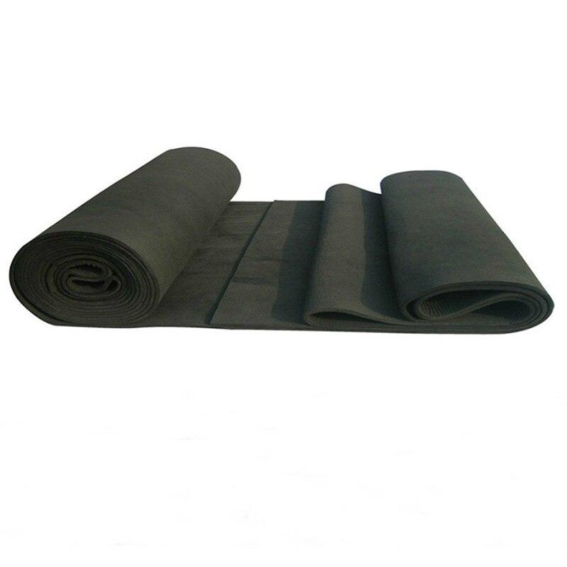1pcs New Arrival Soft Graphite Carbon Felt High Temperature Carbon Fiber For Contamination Adsorption Cleaning  5x200x300mm