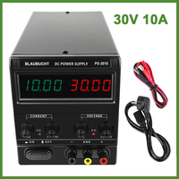 DC Regulated Lab Power Supply Adjustable 30V 10A 120V 3A Voltage Regulator Stabilizer Switching Bench Source Ship From Russia