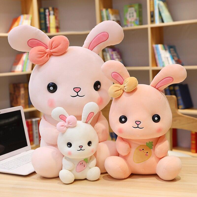 Купить новинка милые мягкие плюшевые игрушки с кроликом для детей куклы