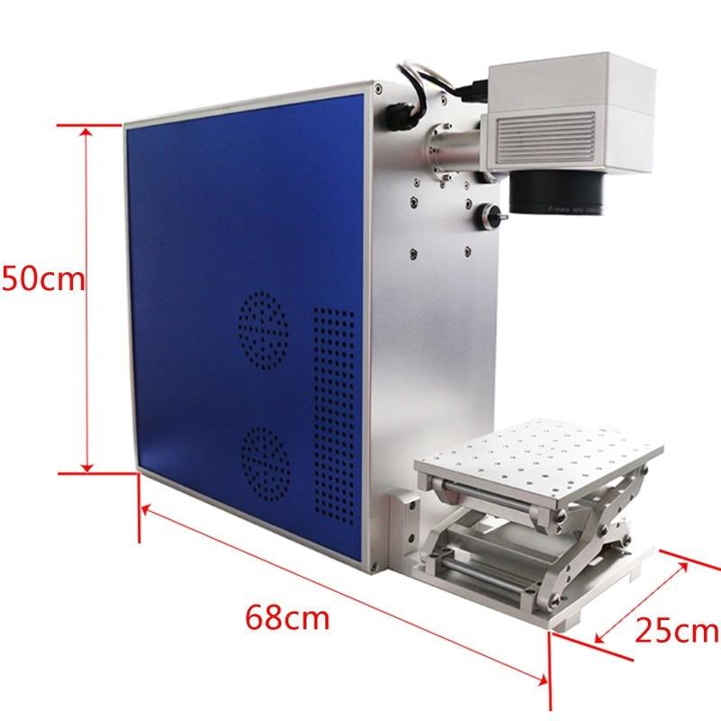Tiesioginis gamykloje parduodamas 20W lazerinis metalo žymėjimo - Medienos apdirbimo įranga - Nuotrauka 6