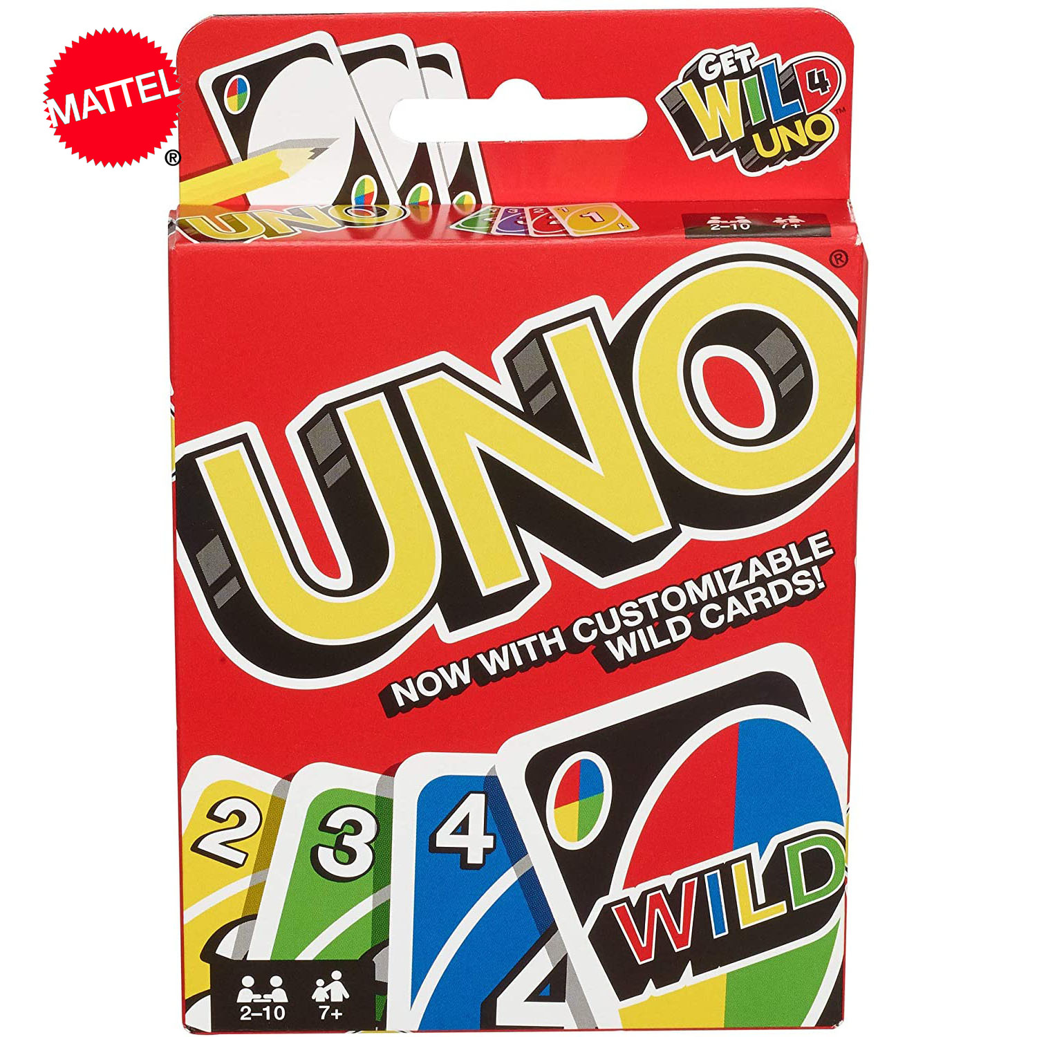 Mattel Games UNO Kartenspiel Casual Home Entertainment UNO Board Game Card Playing Party Toys
