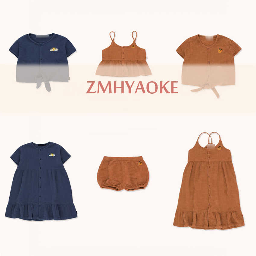 Pre-sale ZMHYAOKE-TC NEW 2020 Summer Baby Girls Clothes Children's Sets Fashion Beach Christmas Boutique Kids Boys Clothes