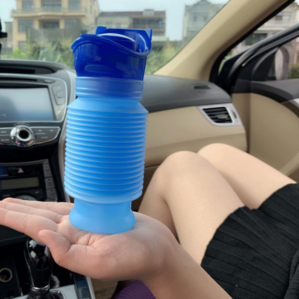 750ml High Quality Male & Female Emergency Portable Camping Blue Travel Toilet Car Bottle Urinal 1Pc Go Pee Out