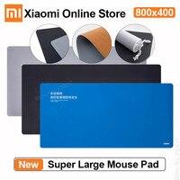 Xiaomi Super Große Doppel Material Maus Pad Schreibtisch Leder Touch Natürliche Gummi Nicht-Slip Wasserdichte Anti-schmutzig 800x400 Maus Matte