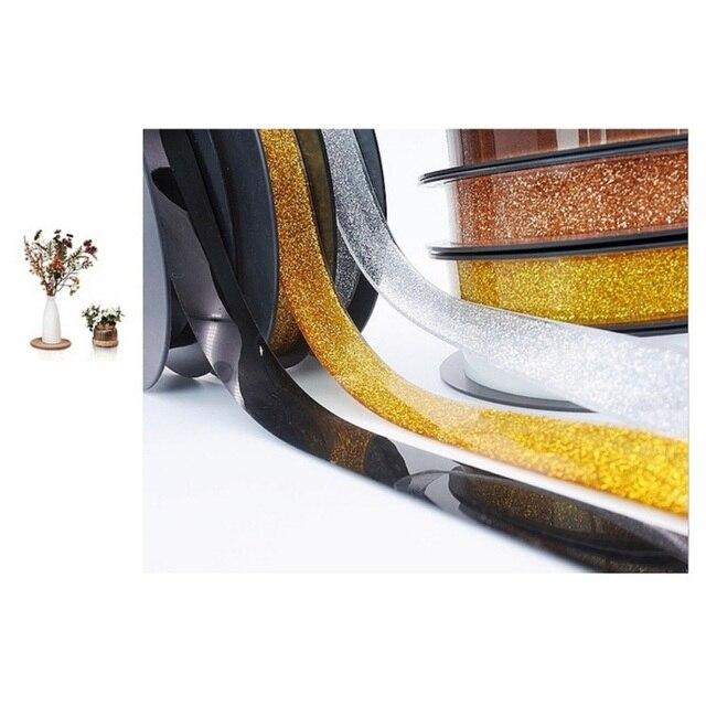 6M DIY 자기 접착 성 세라믹 타일 갭 테이프 곰팡이 방지 장식 코너 측면 가장자리 스트립 스티커