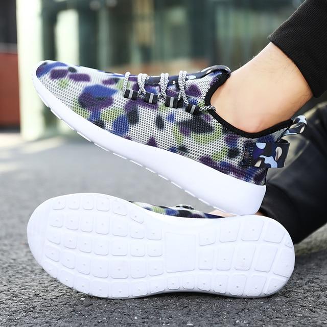 Breathable Lightweight Running Shoes for Men Women cb5feb1b7314637725a2e7: Black|Blue