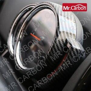 Image 3 - רכב טכומטר דקורטיבי כיסוי עבור BMW מיני אחד CooperS F54 F55 F56 F57 F60 ABS פלסטיק פחמן סגנון אביזרי שינוי