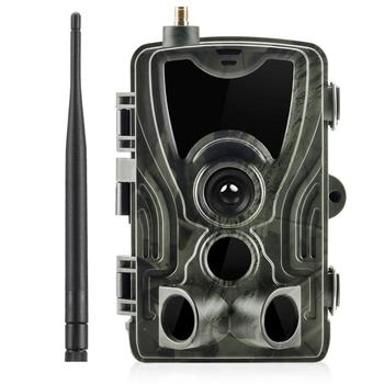 Cellular Mobile Hunting Camera 2G MMS SMS GSM 20MP 1080P Infrared Wireless Night Vision Wildlife Hunting Trail Camera HC801M 1