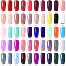 GDCOCO vernis à ongles Gel, produit de manucure, bon marché, longue durée, 1 pièce, 55 couleurs, Kit couche de finition, couche de Base