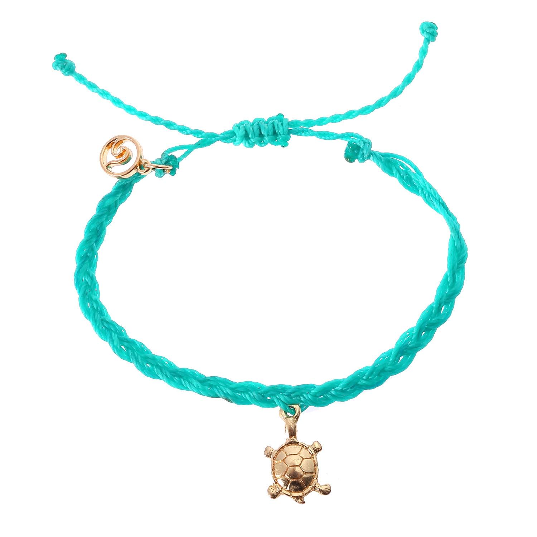 Pretty Leaf Pendant Necklace ~ Rope Cord /& FREE Friendship Bracelet