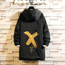 2020 Casual Mens Windbreaker Jackets X-Long Trench Coat For Men Spring Autumn Wi