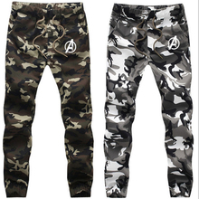 2020 Men's Jogger Pants Men Camouflage Military Pants Spring Autumn Loose Comfortable Cargo Trousers for Men Camo Jogger Pants