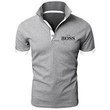 Polo camisas para homens chefe manga curta camiseta terno qualidade camisa masculina verão negócios luxo casual tamanho grande 5xl