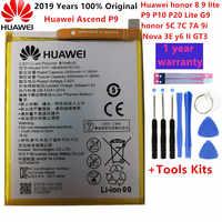 Hua Wei 100% original Echt 3000mAh HB366481ECW Batterie Für Huawei P Smart 5,6 FIG-LX1 FIG-LA1 FIG-LX2 FIG-LX3 batterie + werkzeug