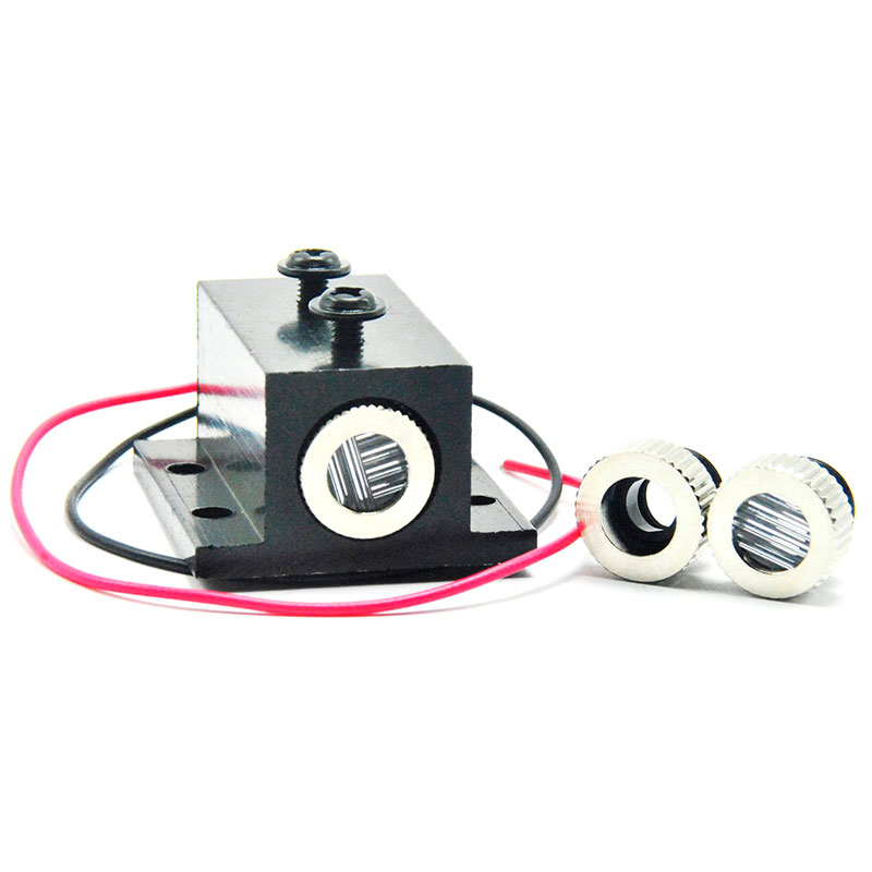 Focusable 650nm 30mW Red Laser Diode Module w Focus Dot/Line/Cross Collimator Lens & Heatsink|Stage Lighting Effect|Lights & Lighting - title=