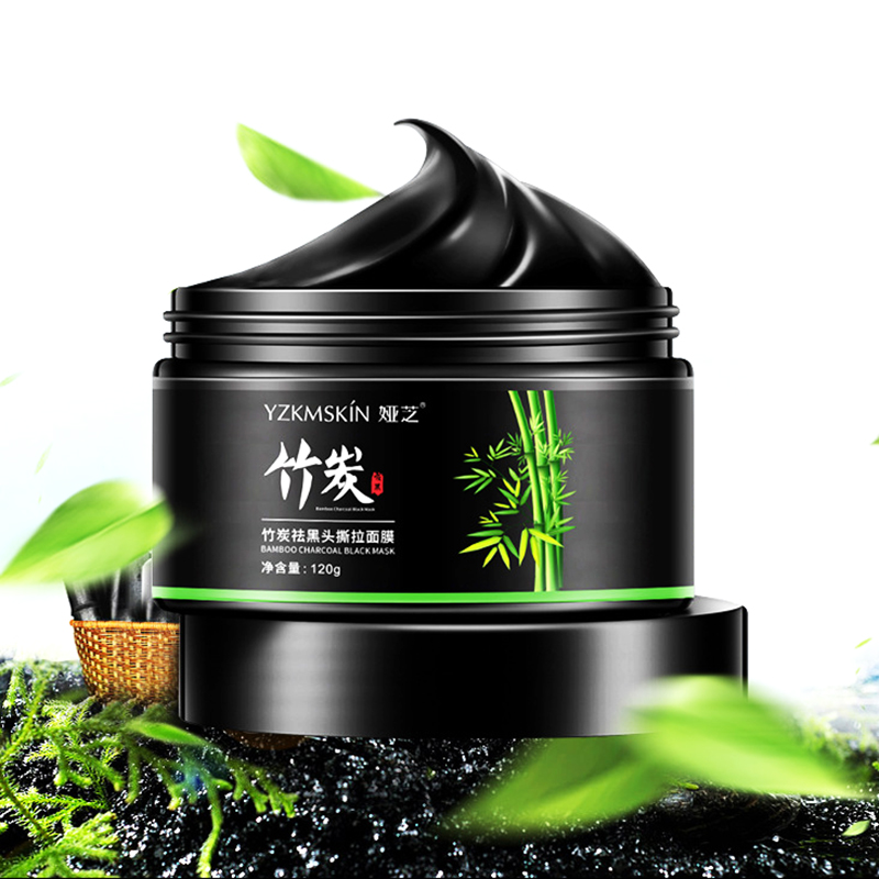 120g Deep Cleansing Face Bamboo Charcoal Mud Mask Blackhead Remover Shrink Pores Repair Skin Care Acne Treatment T Zone Care