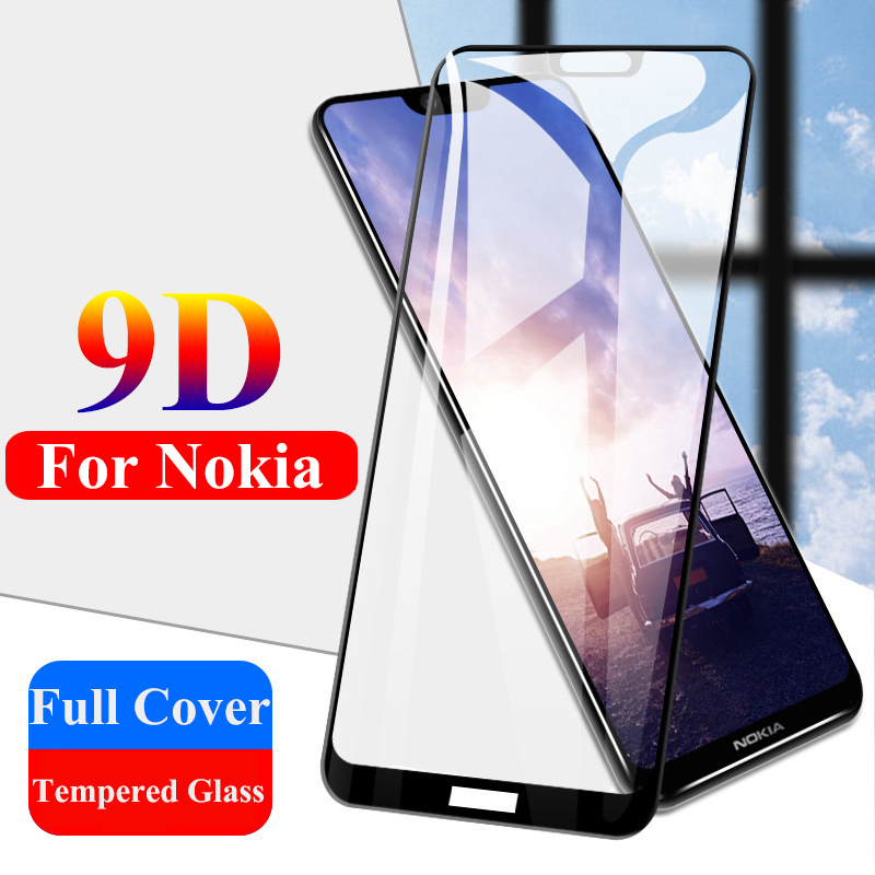 9D HD Hard Tempered Glass For Nokia 4.2 3.2 5 4 3 2 1 Plus Protective Glass For Nokia X5 5.1 Plus 3.1 2.1 Screen Protector Film