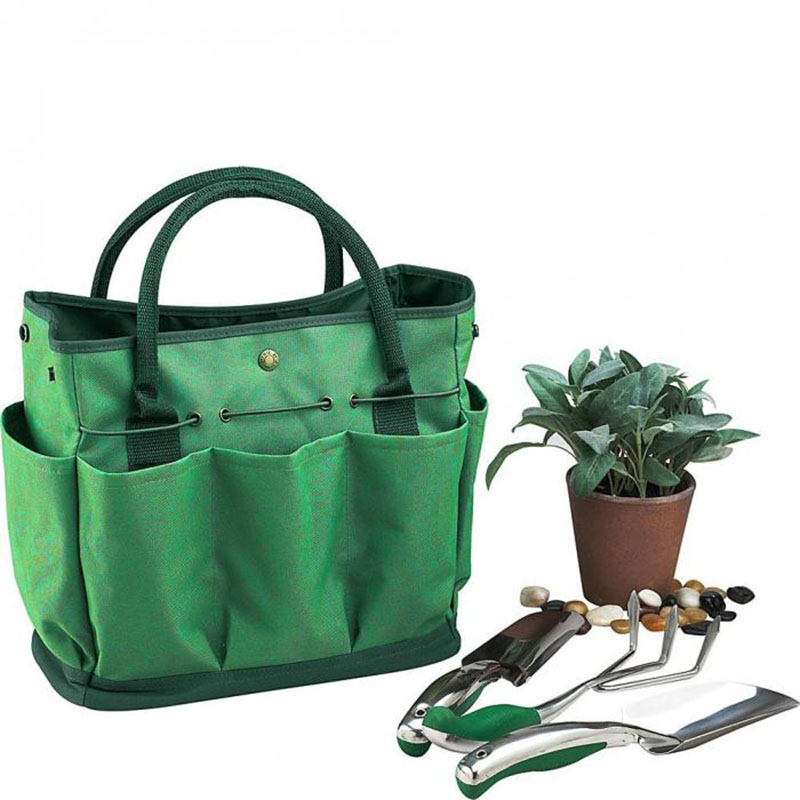 Garden Tool Bag Gardening Tool Storage Holder Oxford Bags Organizer Tote Lawn Yard Carrier Ali88