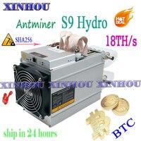 BTC BCH 물 냉각 광부 AntMiner S9 하이드로 18TH/s ASIC bitcoin 광부보다 S9 T9 S17 Whatsminer M3 M20S Innosilicon T2T
