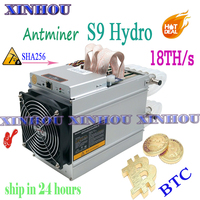 BTC BCH water cooling Miner AntMiner S9 Hydro 18TH/s ASIC bitcoin miner Better than S9 T9 S17 Whatsminer M3 M20S Innosilicon T2T|Network Switches| |  -