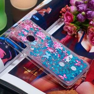 Image 3 - Telefono Cellulare di lusso Custodie Per Huawei P20 Lite Honor 10i 8A 8S Y7 Y6 Y9 Pro Prime Godere 9 Caso glitter Liquido Sabbie Mobili Del Respingente di TPU Coque