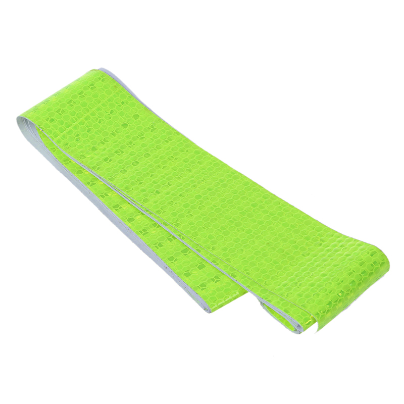 FFYY-5cm X 3m Fluorescence Yellow Night Reflective Safety Warning Conspicuity Tape