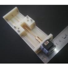 цена на 2-Phase 4-Wire Stepper Motor Linear Screw Slider Actuator 120mm Stroke 4V-12V DC Linear Screw Slider Stepper Motor With Gearbox