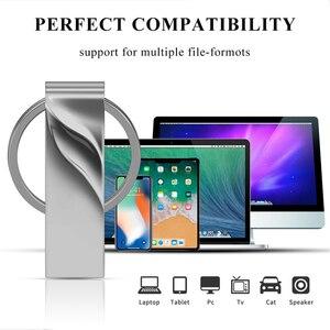 New PenDrive Metal Pen Drive 3.0 Usb Flash Drive 32GB 64GB 128GB High Speed Cle Usb Stick 8GB 16gb Flash Memory Stick Gift OTG