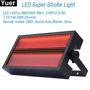 Image 1 - LED RGB 3w1 Super jasne światło stroboskopowe pranie stroboskopowe 2w1 mieszanka kolorów efekt DJ kolor oświetlenie do zastosowań muzycznych Disco wesele oświetlenie sceniczne