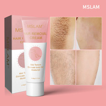 60ml Permanant Hair Growth Removal Inhibitor cream Beard Bikini Intimate Legs Body Armpit Painless Facial Stop Hair TSLM2