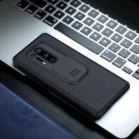 Funda trasera con objetivo de Nillkin CamShield para OnePlus 8 Pro, funda protectora deslizante para cámara