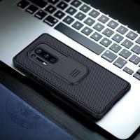 Funda trasera con objetivo de Nillkin CamShield para OnePlus 8 Pro, funda protectora deslizante para OnePlus 8 cámara