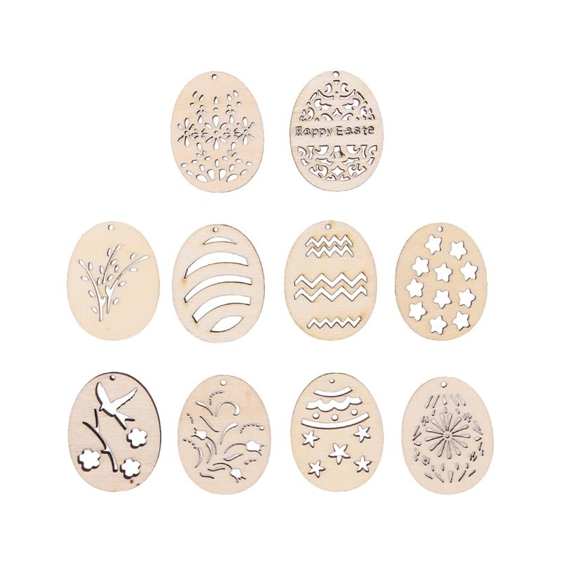 50 pcs Wood shape Living-Room Bedroom Cutout Blank Pieces Hanging Background