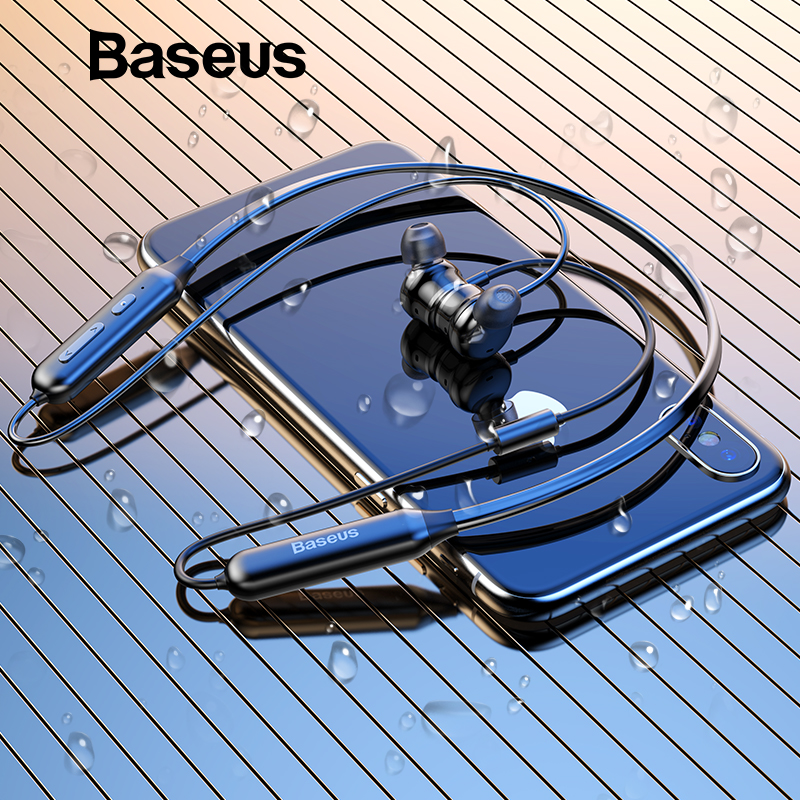 Baseus S15 ANC Wireless Bluetooth Earphone Active Noise Cancellation V4.2 Bluetooth Sport Earphones With Mic For Mobile Phone