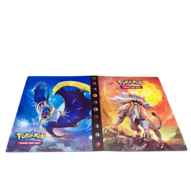 240 шт. держатель Альбом игрушки коллекции pokemones карты Альбом Книга Топ загруженный список игрушки подарок для детей - Цвет: 2
