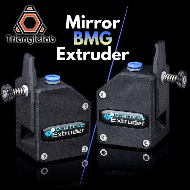 Trianglelab extrusora de doble unidad para impresora 3d mk8 cr10 ender3, V1.0, Cloned Btech Bowden