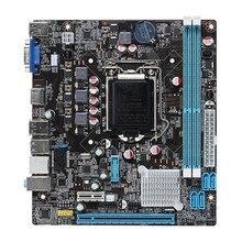 B75 LGA1155 Motherboard Socket LGA 1155 32GB DDR3 Dual Channel USB3.0 Micro ATX For Intel Xeon цена