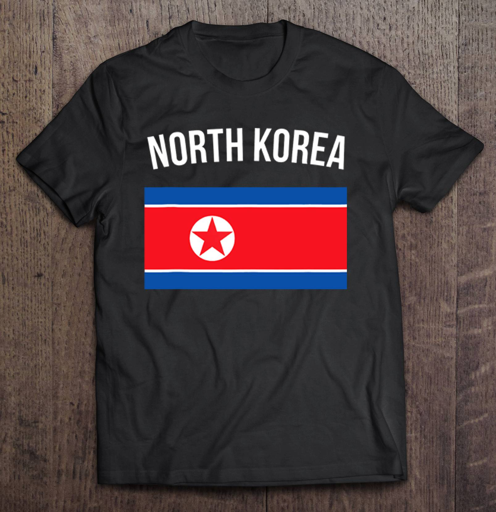 North Korea Flag Of North Korea T-Shirts image
